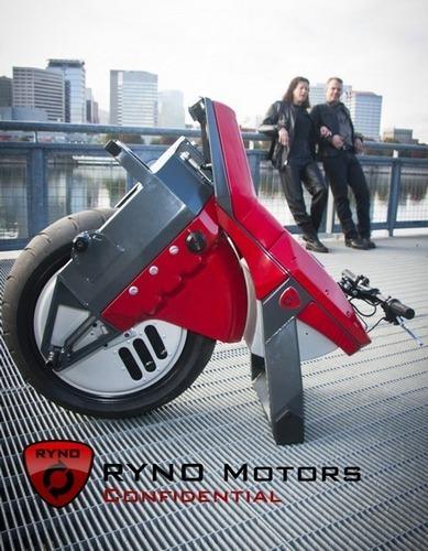 Американец разработал непадающий моноцикл. Изображение № 2.