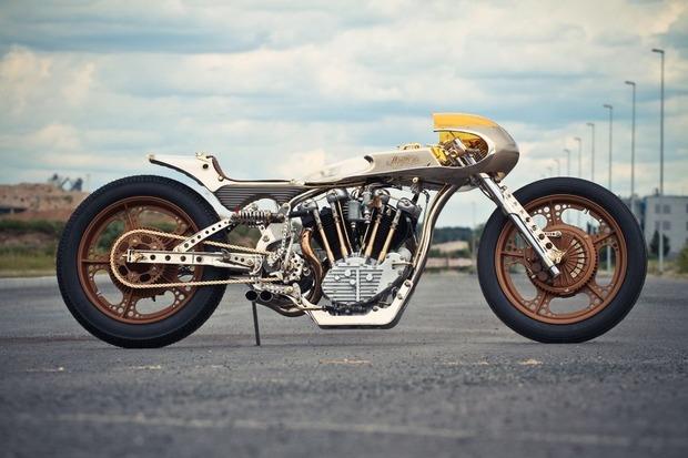Мотоцикл немецкой мастерской Thunderbike победил в чемпионате мира по кастомайзингу. Изображение № 1.