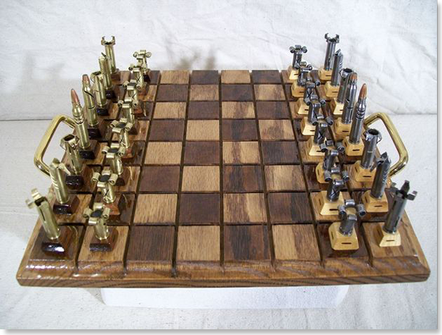 Ручная работа: Шахматы из гильз Olde World Collectibles and Creations. Изображение № 1.