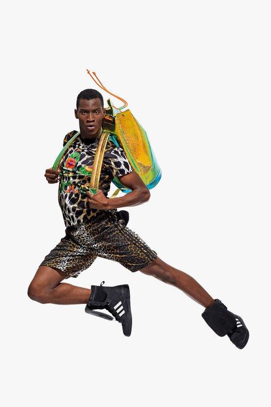 Adidas Originals и Джереми Скотт выпустили лукбук новой коллекции. Изображение № 7.