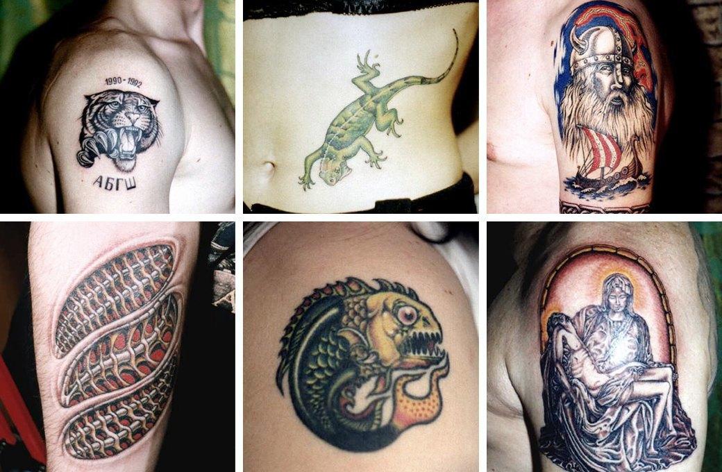 Что стало с советской татуировкой после распада СССР. Изображение № 10.