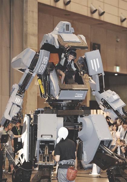 В Японии произвели четырехметрового боевого робота. Изображение № 9.