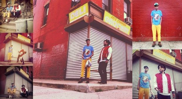 Хип-хоп коллектив Das Racist снялся в осеннем лукбуке марки Moss. Изображение № 5.
