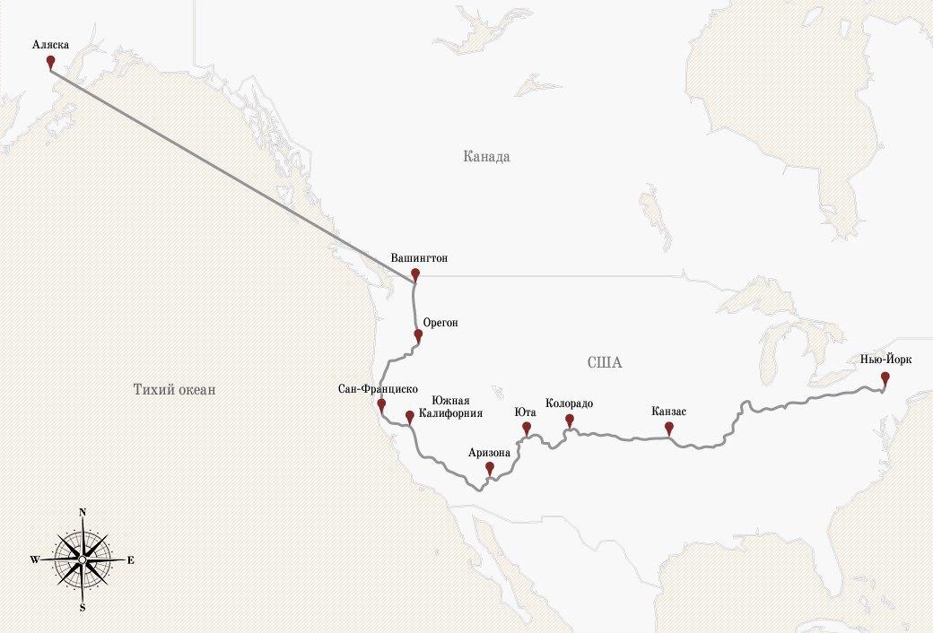 «Мы чувствовали себя первыми колонизаторами Марса»: Путешествие по США на мотороллере. Изображение № 2.