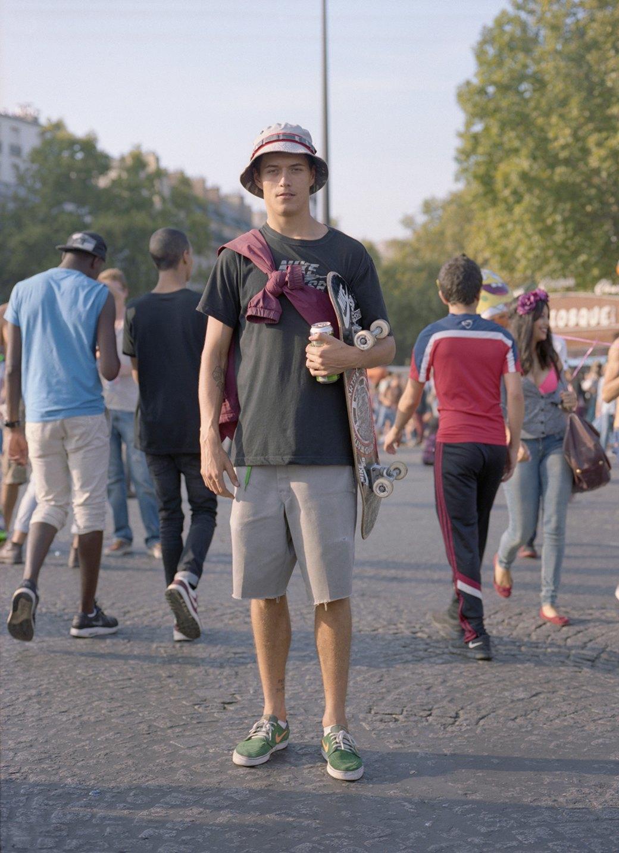 Фотопроект: Парижские гопники захватывают центр города ради техно-рейва. Изображение № 10.