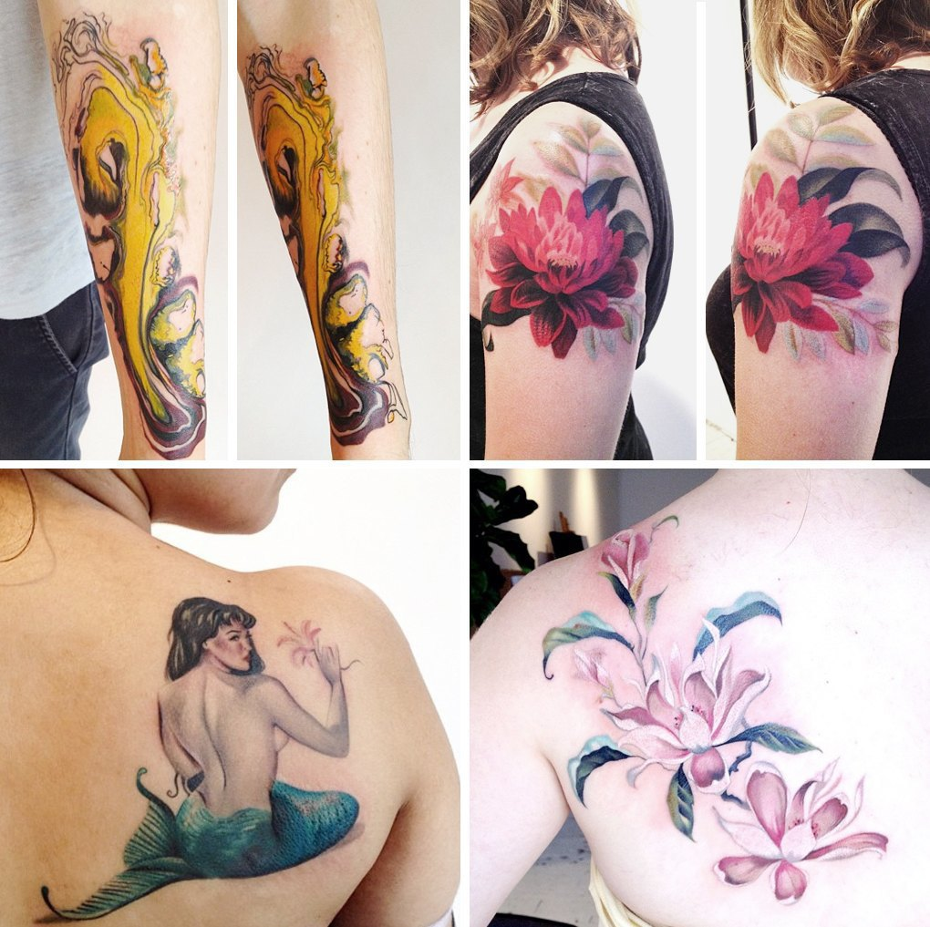 Что публикуют в своих Instagram известные татуировщики. Изображение № 13.