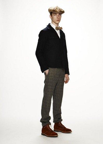 Марка Woolrich Woolen Mills опубликовала лукбук осенней коллекции одежды. Изображение № 16.