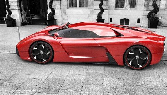 Представлен новый концепт суперкара на базе Ferrari 458 Italia. Изображение № 14.