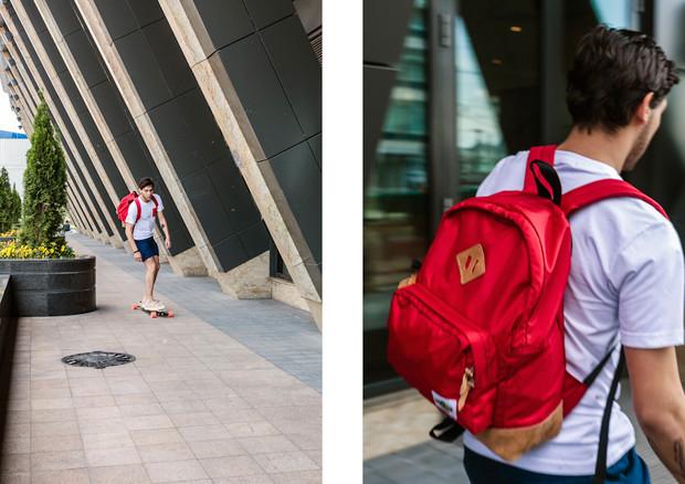Магазин KixBox выпустил коллекцию рюкзаков и снял к ней лукбук. Изображение № 1.
