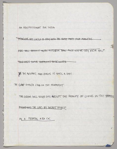 В музее Бруклина выставили скетчбуки Баския. Изображение № 3.
