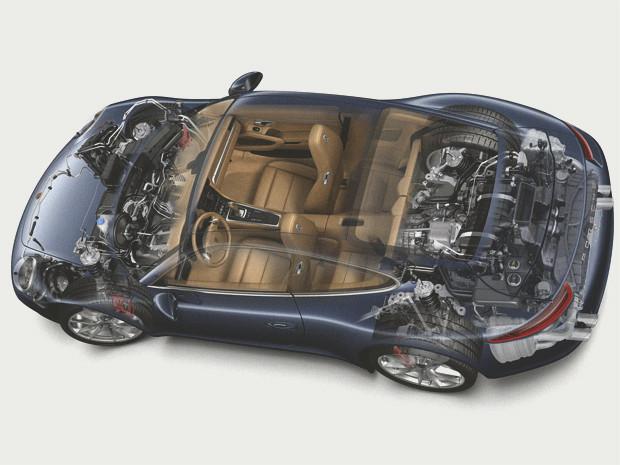 Новый Porsche 911 и эволюция его предшественников. Изображение № 6.