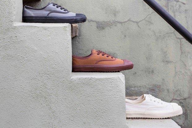 Марки Nigel Cabourn и Converse представили совместную коллекцию обуви. Изображение № 10.