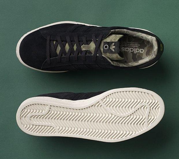 Марки A Bathing Ape, Undefeated и Adidas Originals представили совместную коллекцию кроссовок. Изображение № 4.