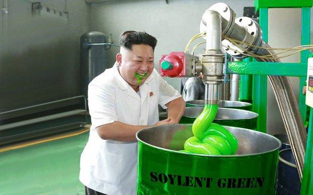 Поход Ким Чен Ына на завод смазок стал новым интернет-мемом . Изображение № 5.