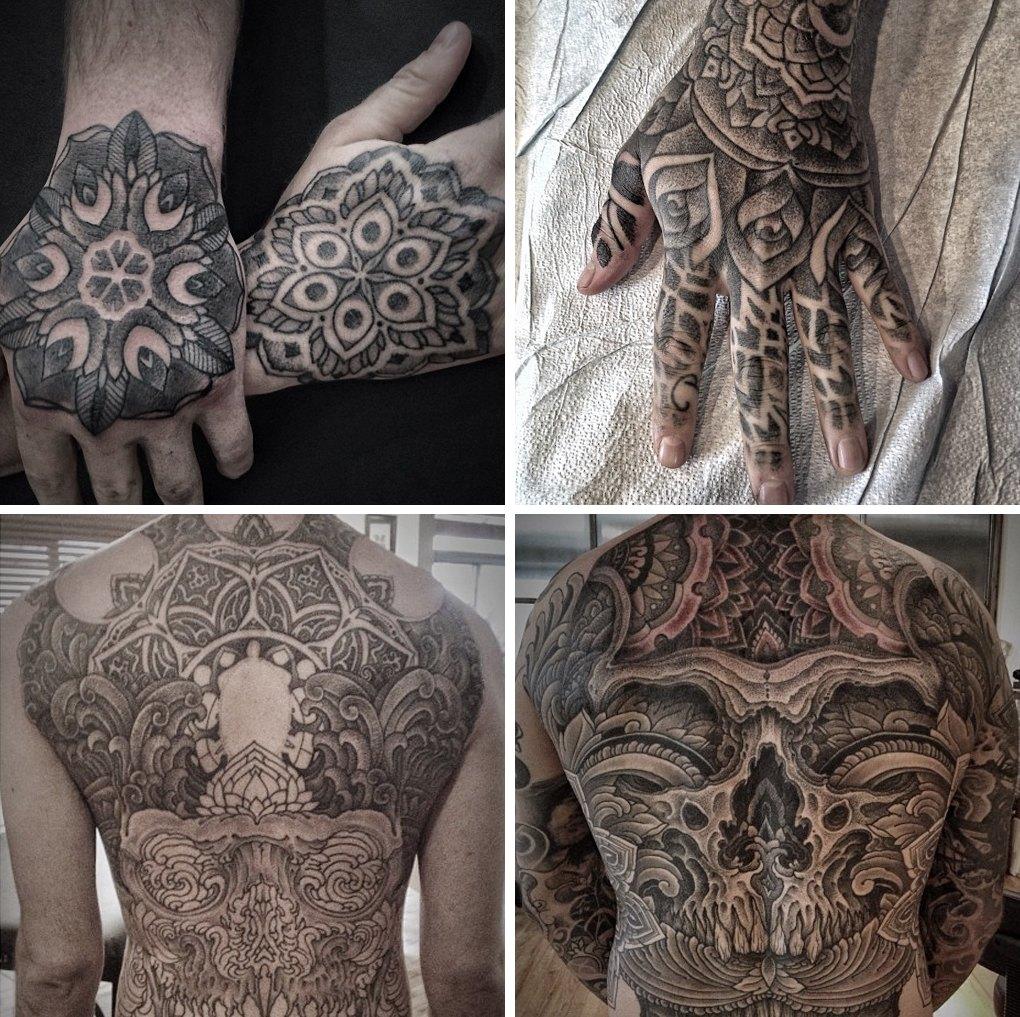 Что публикуют в своих Instagram известные татуировщики. Изображение №7.
