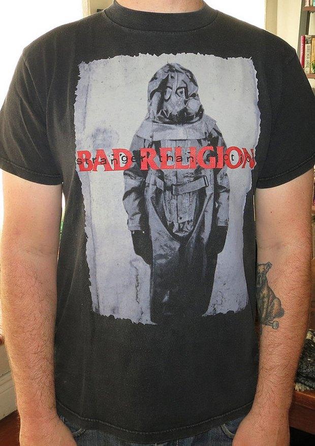 Minor Thread: Тысячедневный марафон футболок с логотипами музыкантов. Изображение № 31.