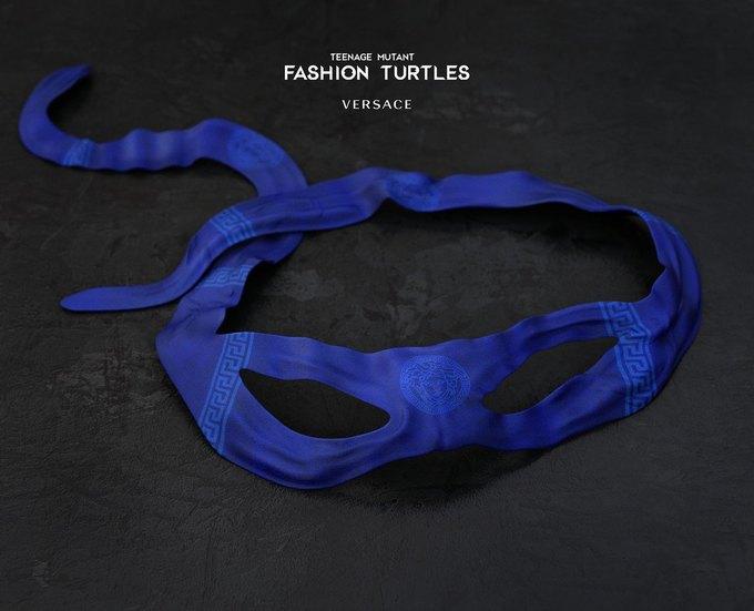 Дизайнеры придумали коллаборацию черепашек-ниндзя и модных брендов. Изображение № 5.