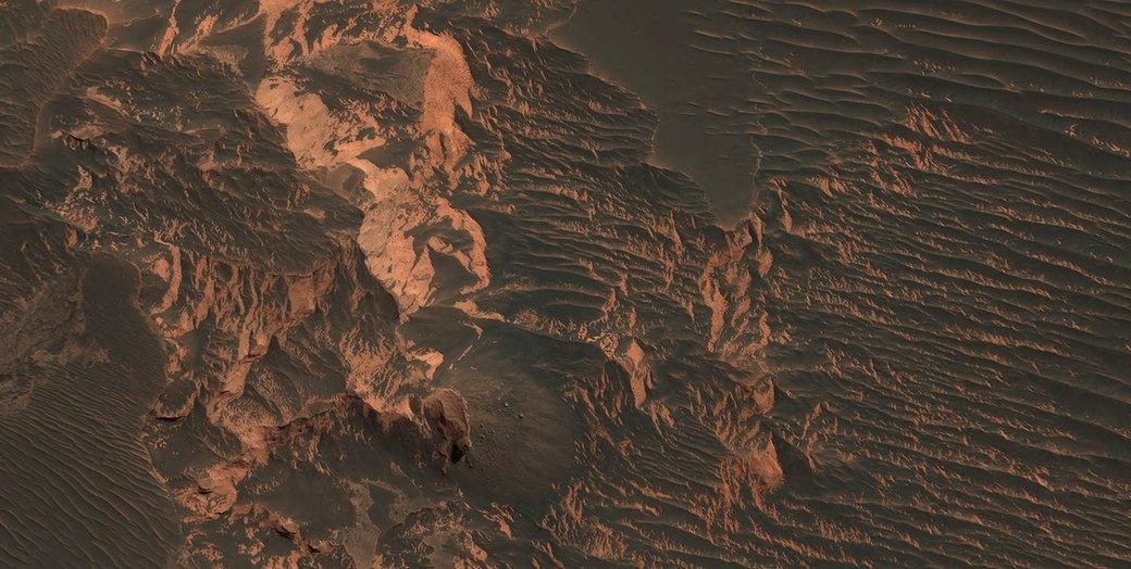 Новые фотографии поверхности Марса, опубликованные агентством NASA. Изображение №2.