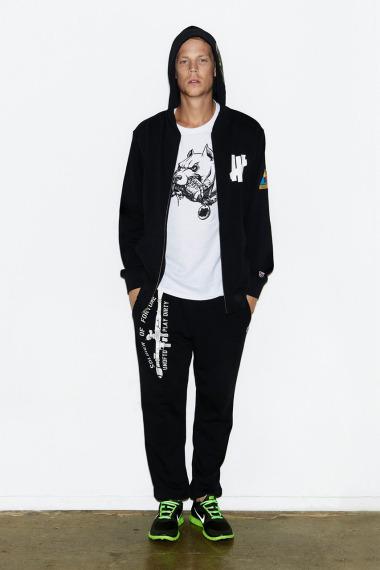 Марка Undefeated выпустила лукбук новой коллекции одежды своей линейки Holiday. Изображение №8.