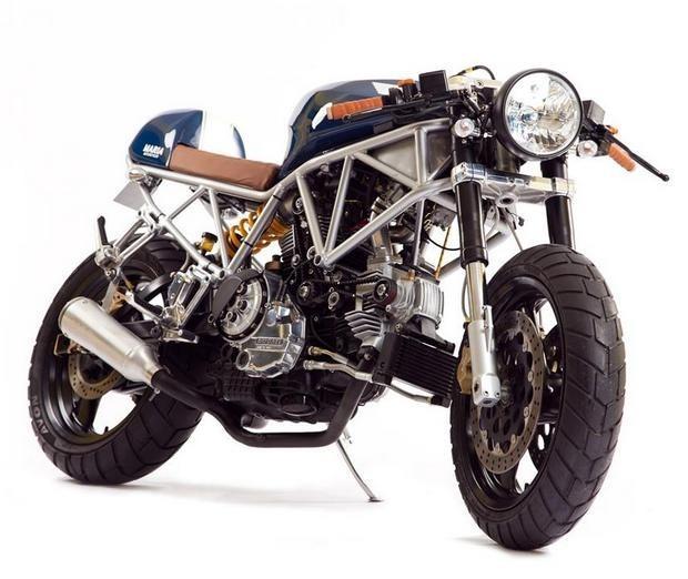 Португальская мастерская Maria Motorcycles представила мотоцикл Italian Sniper. Изображение № 2.
