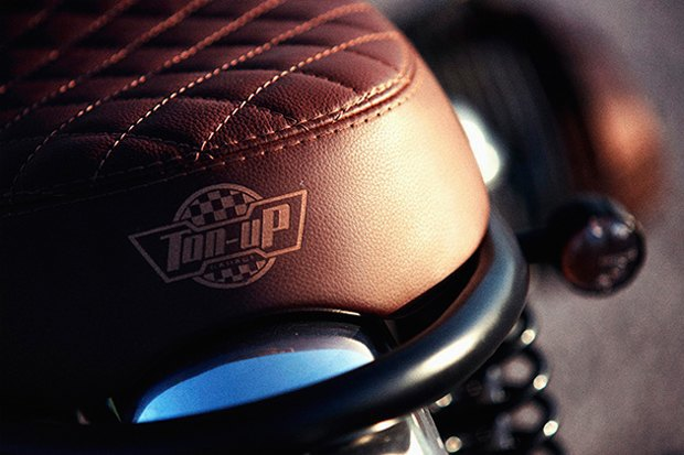 Мотомастерская Ton-Up Garage представила скрэмблер на базе классического BMW R45. Изображение № 6.