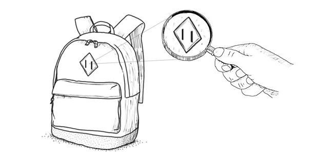 Внимание к деталям: Откуда взялся кожаный «пятак» на рюкзаках. Изображение № 2.