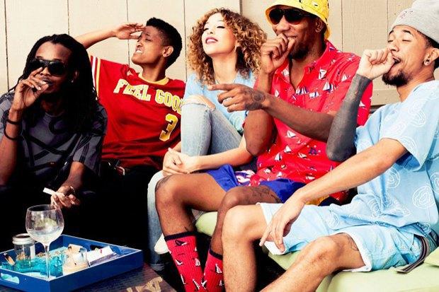 Хип-хоп-группировка Odd Future опубликовала новый лукбук своей марки. Изображение № 1.