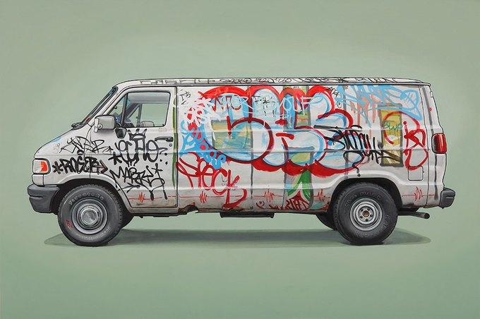 Кевин Сир: Граффити на фургонах как символ города. Изображение № 3.