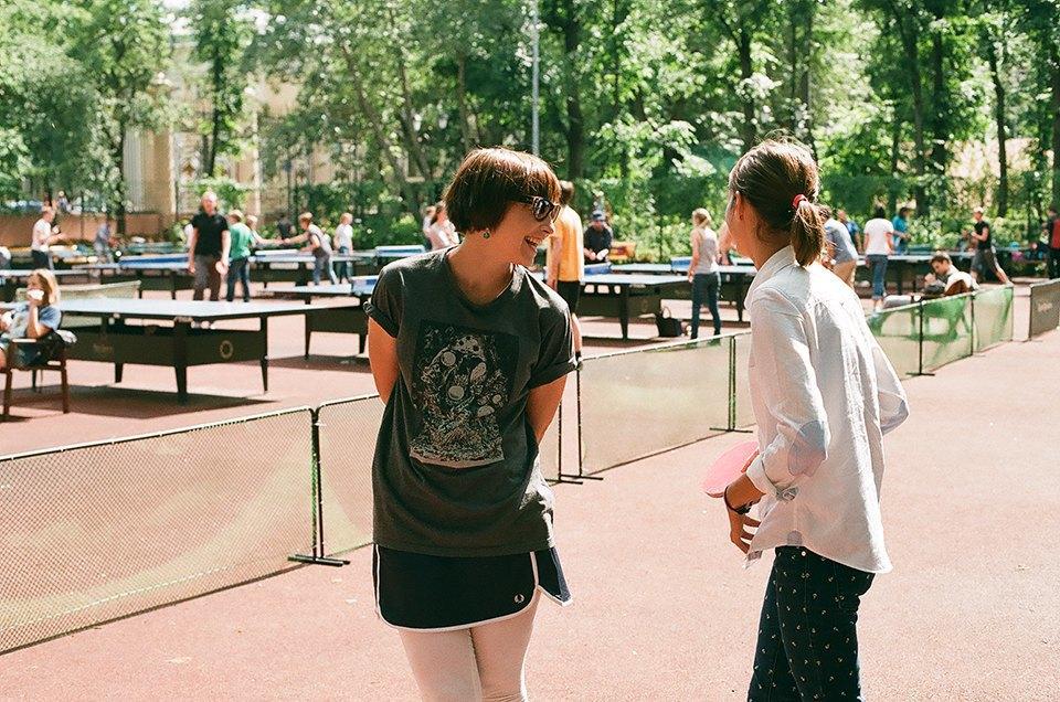 Фоторепортаж: Женский турнир по пинг-понгу в Нескучном саду. Изображение № 19.