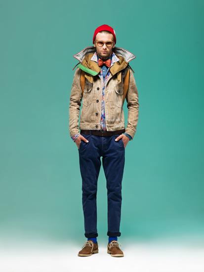 Марка Grunge John Orchestra. Explosion опубликовала лукбук новой коллекции одежды . Изображение № 10.