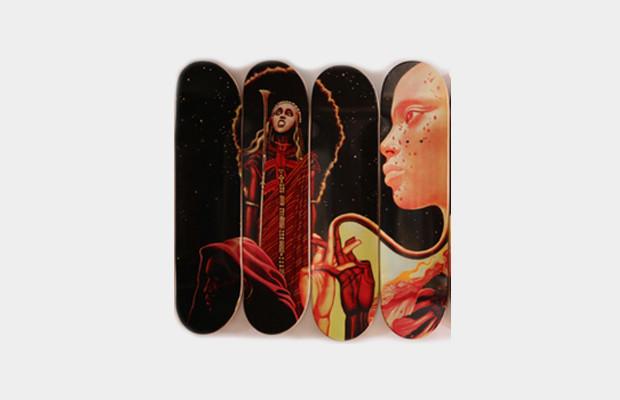 Коллекция дек для скейтбординга с принтом обложки альбома «Bitches Brew» Майлза Дэвиса. Изображение № 2.