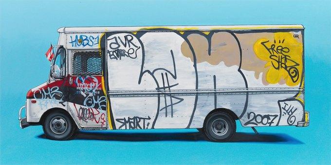 Кевин Сир: Граффити на фургонах как символ города. Изображение № 16.