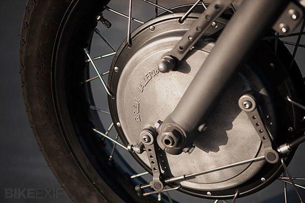 Мастерская Wrenchmonkees представила новый кастом на базе мотоцикла Laverda. Изображение № 4.