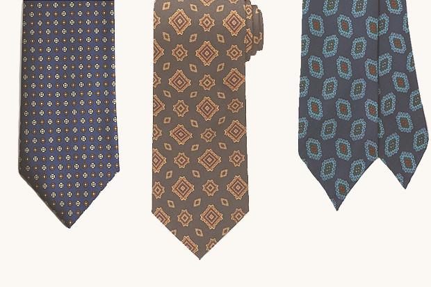 Гид по галстукам: История, строение, виды узлов и рисунков. Изображение № 11.