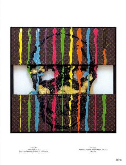Уличный художник Kidult попал на обложку журнала Exit. Изображение № 3.