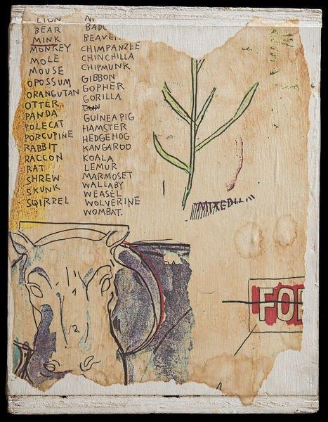 В музее Бруклина выставили скетчбуки Баския. Изображение № 6.