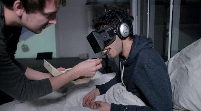 Художник решил прожить месяц в виртуальной реальности. Изображение № 1.