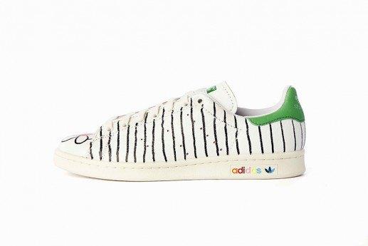 Adidas выпустит коллекцию кроссовок Stan Smith, вручную разрисованных Фарреллом. Изображение № 2.