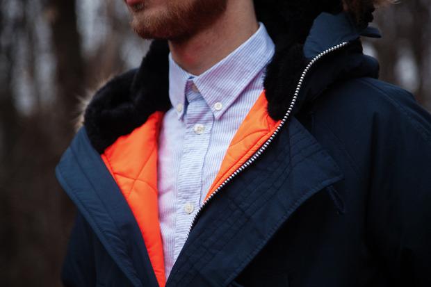 Магазин FOTT представил лукбук коллекции курток, выпущенных совместно с маркой Spiewak. Изображение № 6.