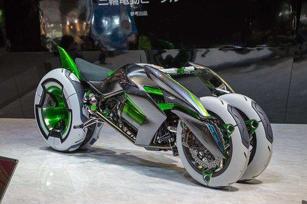 Kawasaki представили новый мотоцикл-трансформер. Изображение № 4.