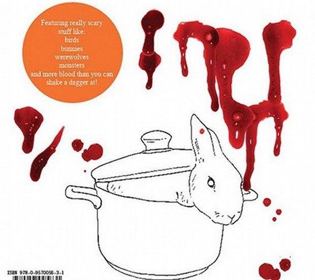 Книжку-раскраску с героями фильмов ужасов изъяли из продажи. Изображение № 7.