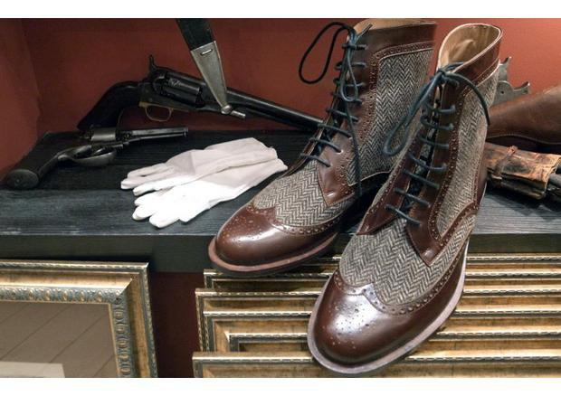 Московская марка «Мастерская 55» выпустила осеннюю коллекцию обуви. Изображение № 1.