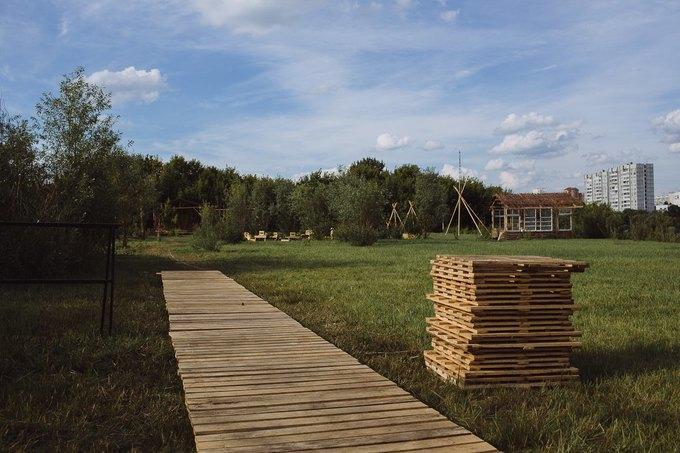 Фоторепортаж: Строительство объектов фестиваля Outline. Изображение № 9.
