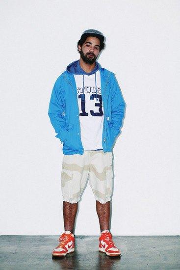 Марка Stussy опубликовала лукбук весенней коллекции одежды. Изображение № 12.