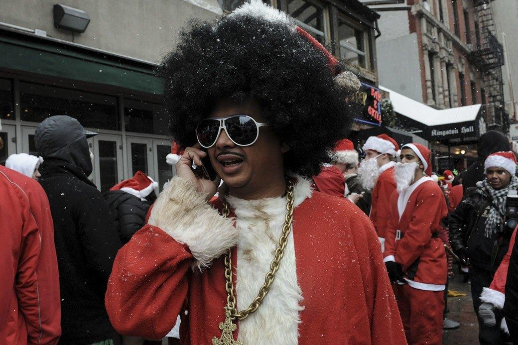 Плохие Санты: Фотохроника самого безумного рождественского флешмоба. Изображение № 8.