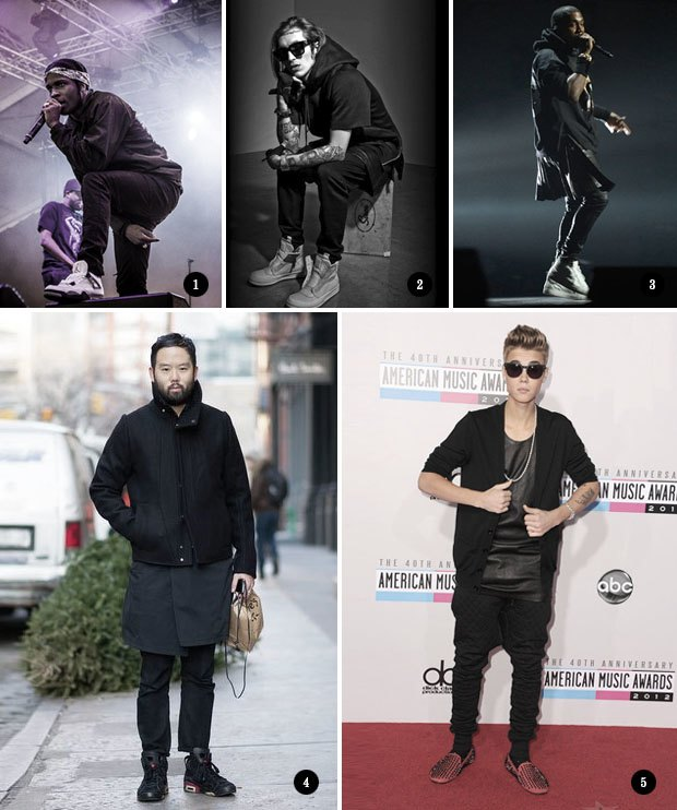 Гетто-готика: «Новый черный» уличной моды. Изображение № 2.