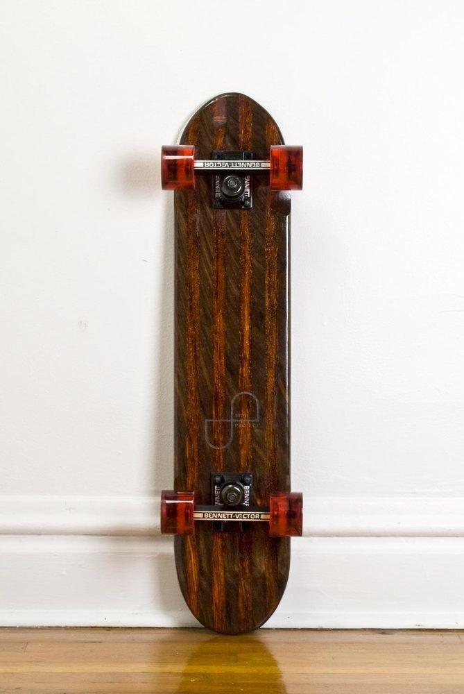 Дизайнер Джейк Эшелман выпустил коллекцию скейтбордов ручной работы. Изображение № 12.