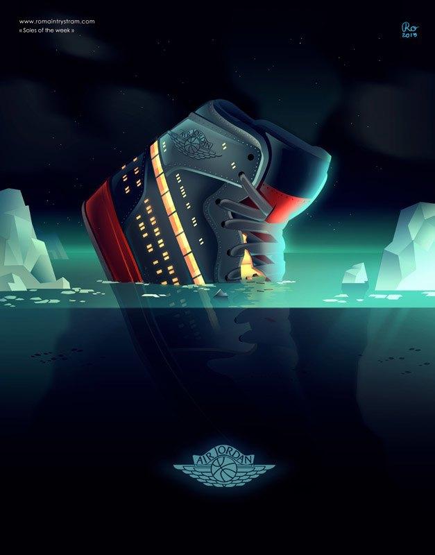 Сюрреалистический взгляд на кроссовки в проекте Sole of the Week. Изображение № 3.