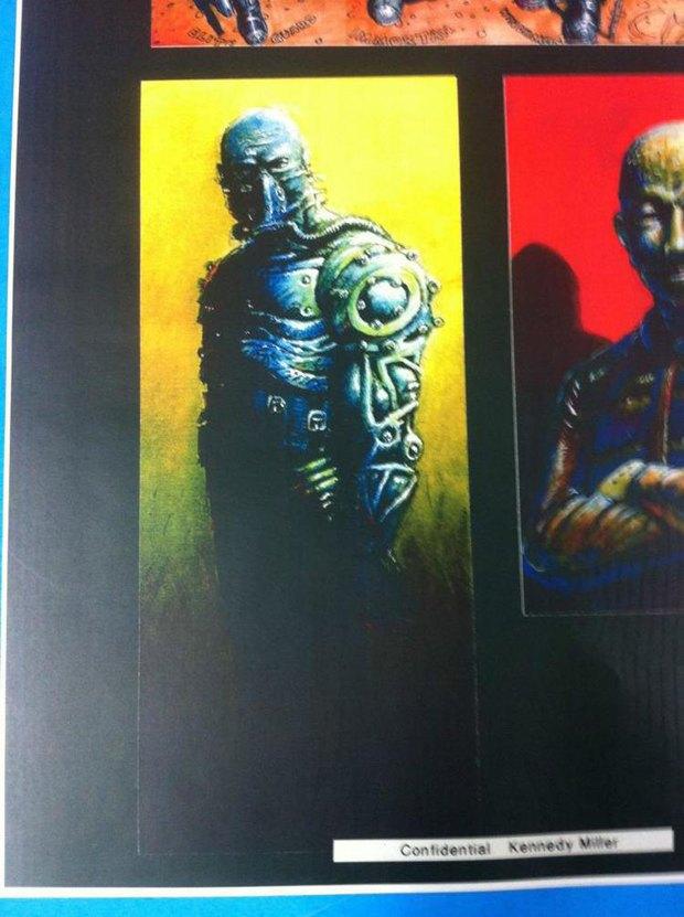 Опубликованы первые концепт-арты фильма «Безумный Макс: Дорога ярости». Изображение № 10.