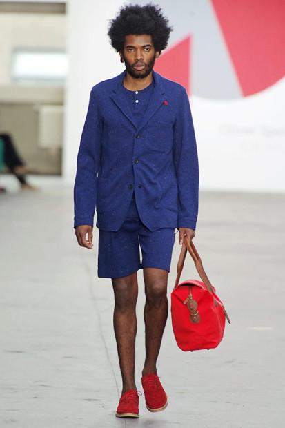 Марка Oliver Spencer выпустила летнюю коллекцию одежды. Изображение № 28.